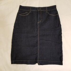 Jean skirt by NYDJ